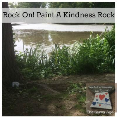 Rock On! Paint A Kindness Rock & Smile!