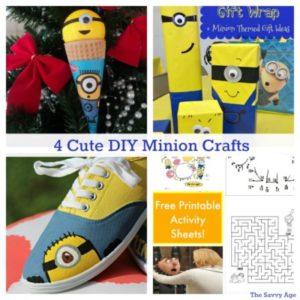 Tis The DIY Season! 4 Easy Minion Crafts