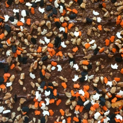 Candy Corn Halloween Chocolate Bark Recipe