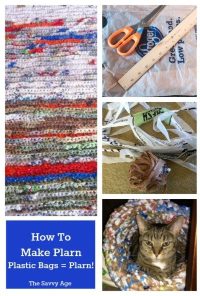 Learn how to recycle plastic bags into plarn. Plarn is plastic yarn to knit and crochet your favorite sustainable projects.