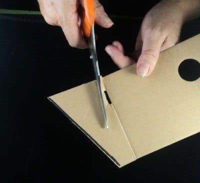 Reindeer craft cut triangle