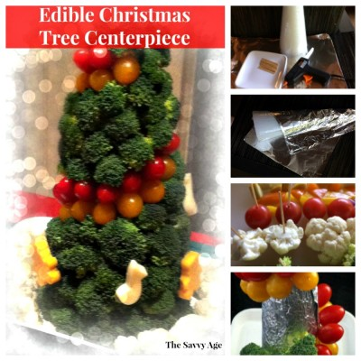 Edible Christmas Tree Centerpiece
