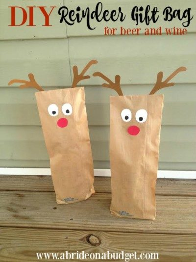 reindeer-gift-bag bride