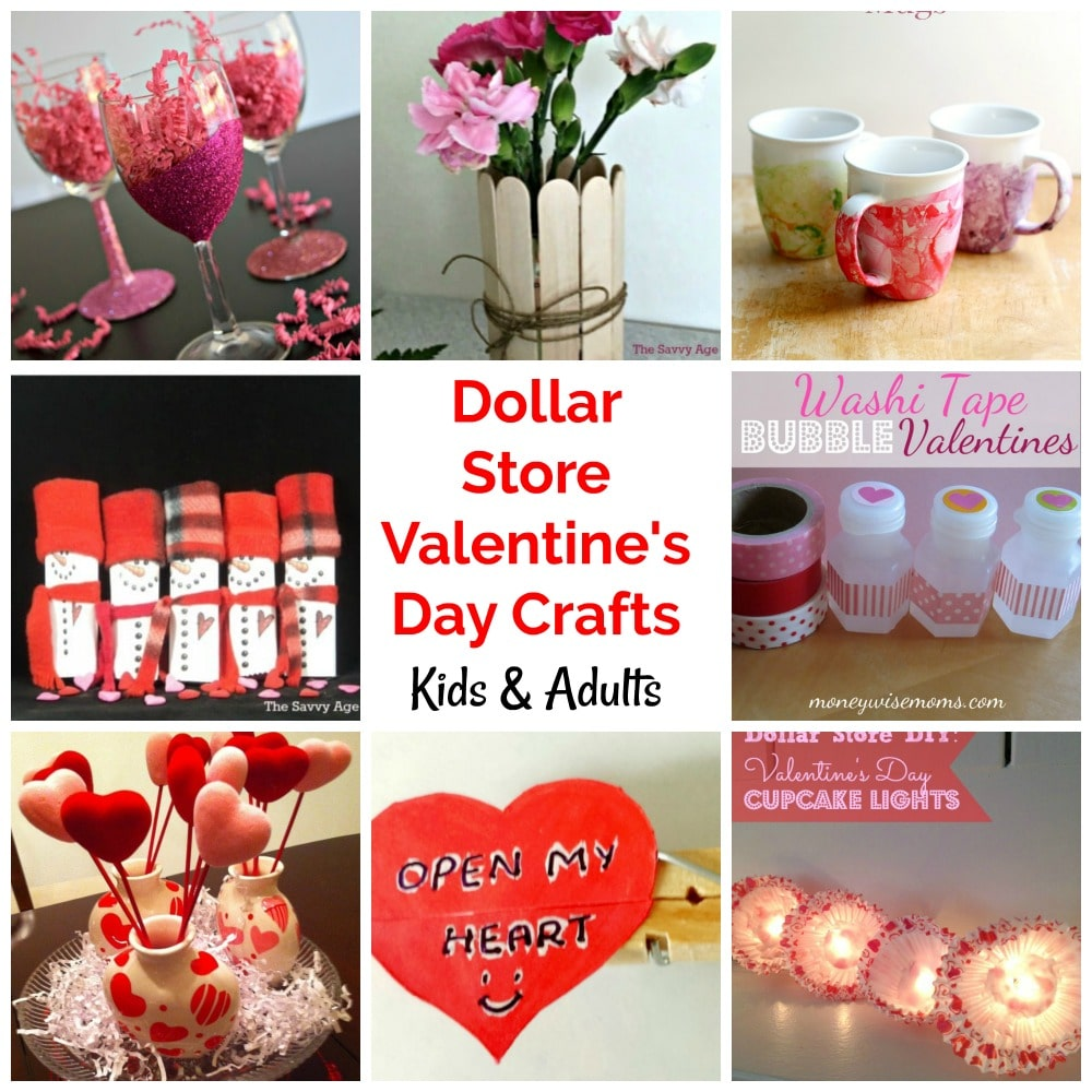 Diy Dollar Store Valentine S Day Crafts Gifts The Savvy Age