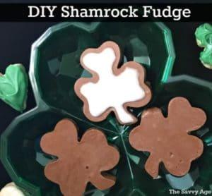 Shamrock Fudge DIY For St. Patrick's Day