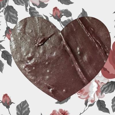 DIY Valentine's Day Fudge Hearts
