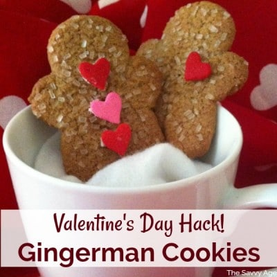 Valentine Cookie Hack Valentine S Day Gingerbread Cookies The