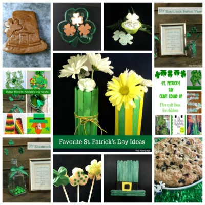 Favorite St. Patrick's Day Craft & Food Ideas