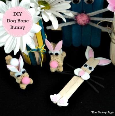Woof! DIY Dog Bone Bunny