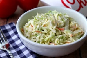Chick-fil-A coleslaw in a bowl.
