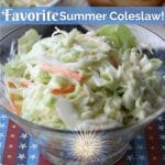 Bowl of Chick-Fil-A coleslaw.