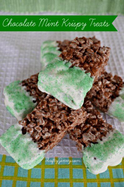 chocolate dipped rice krispie treat