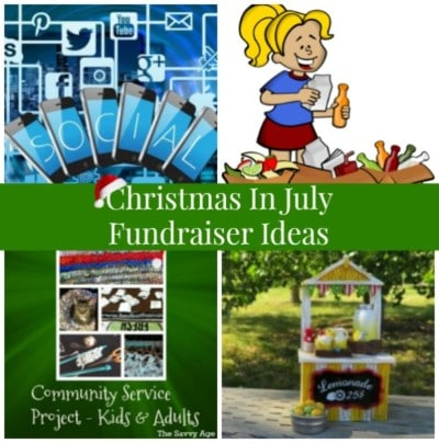 Christmas In July Fundraiser Ideas