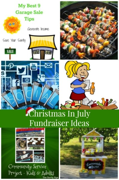 Christmas In July Ideas.Christmas In July Fundraiser Ideas Pt The Savvy Age