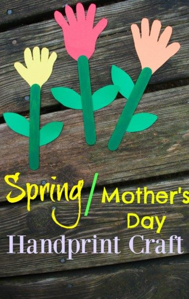 Mother's Day Popsicle Stick craft for kids.