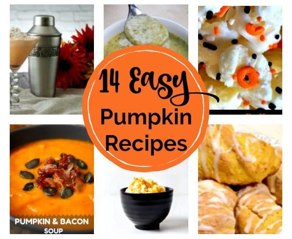 14 Easy Pumpkin Recipes