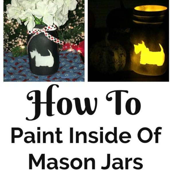 How To Paint Inside Of Mason Jars