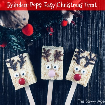 Three Reindeer Lollipops