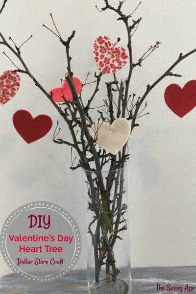 The 1 Valentine S Day Craft Valentine S Day Tree The Savvy Age