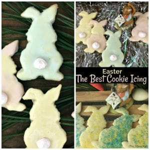 bunny cookies with icing