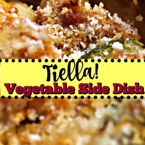 Healthy Vegetable Side Dish! Authentic Tiella Recipe