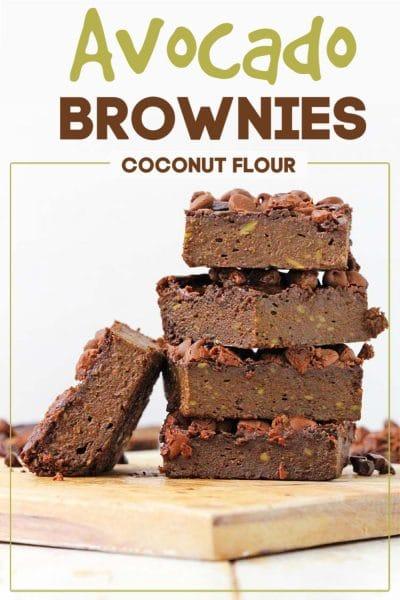 stack of brownies