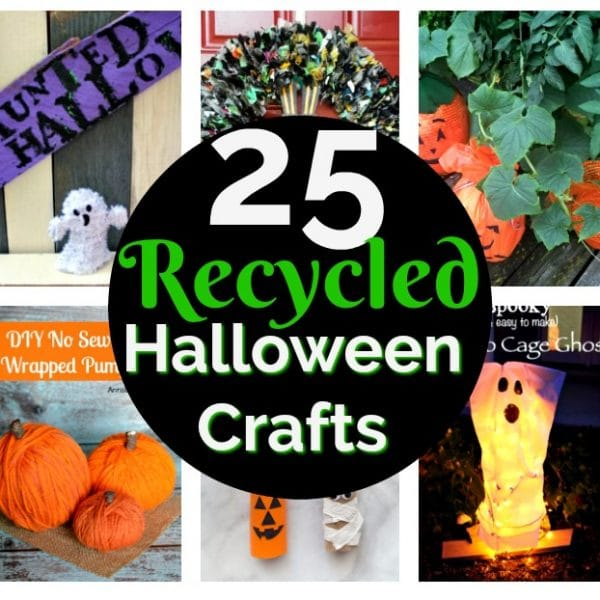 25 Recycled Halloween Crafts