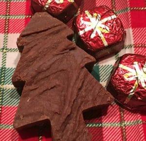 fudge christmas tree