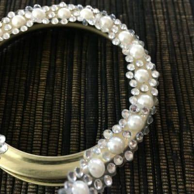 Mason Jar Lid with jewels