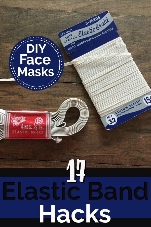 17 Elastic Hacks For Homemade Face Masks The Savvy Age