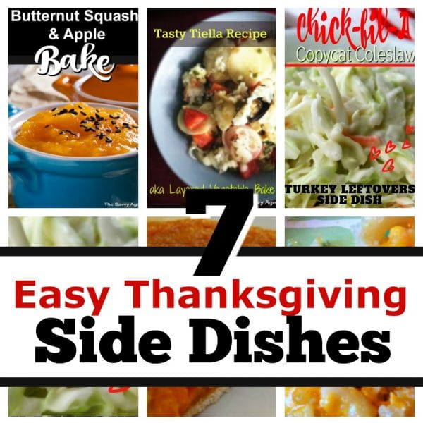 7 Easy Thanksgiving Side Dishes
